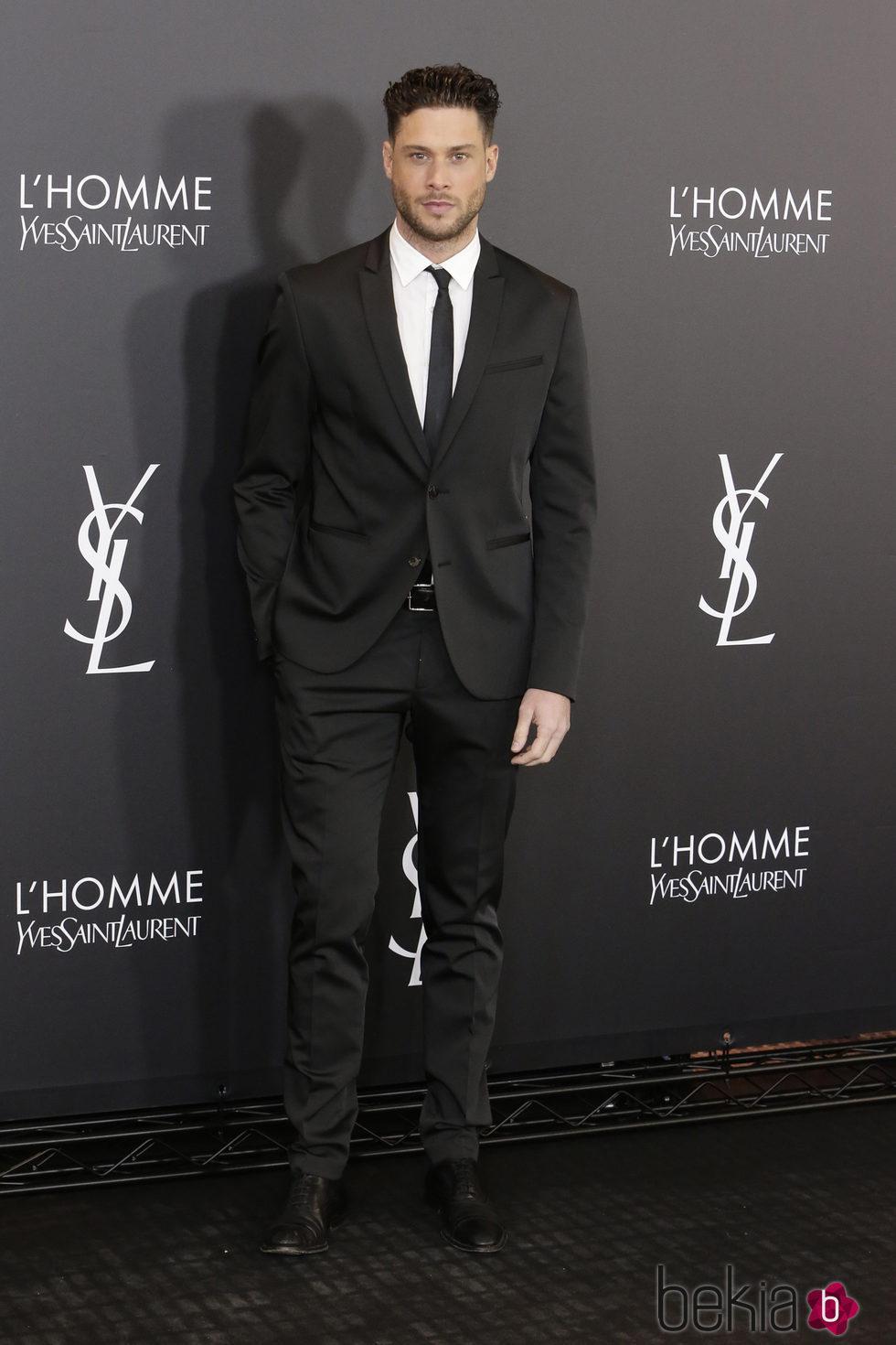 Jose Lamuño en el aniversario del perfume 'L'Homme' de Yves Saint Laurent en Madrid