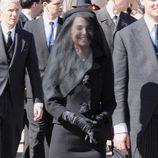 Natalie Portman durante el rodaje de la película 'Jakie' en Washington