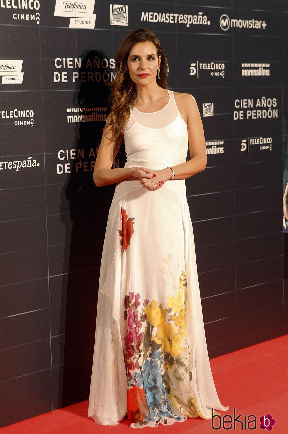 Patricia Vico en el estreno de la película 'Cien años de perdón'
