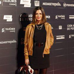 María Reyes en el estreno de la película 'Cien años de perdón'