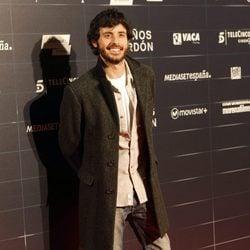 Javier Pereira en el estreno de la película 'Cien años de perdón'
