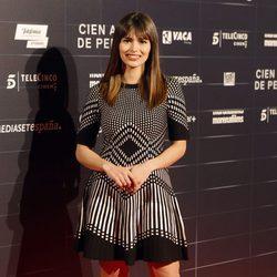 Sara Sálamo en el estreno de la película 'Cien años de perdón'