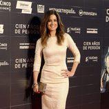Isabel Jiménez en el estreno de la película 'Cien años de perdón'