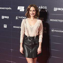 Silvia Alonso en el estreno de la película 'Cien años de perdón'