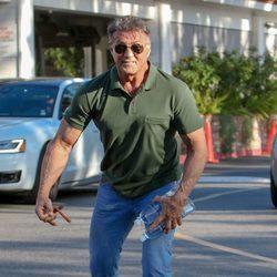 Sylvester Stallone vuelve a su vida diaria tras quedarse sin el Oscar 2016