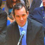 Iñaki Urdangarín declara con una sonrisa en el juicio por el Caso Nóos