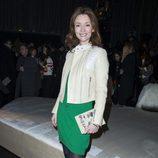 Audrey Marnay durante el desfile de 'H&M Studio' en la Fashion Week de París Otoño/Invierno