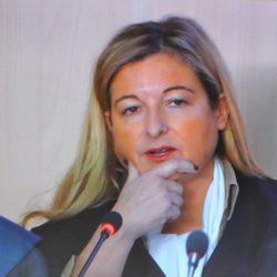 Virginia López Negrete en su interrogatorio a la Infanta Cristina en el juicio por el Caso Nóos