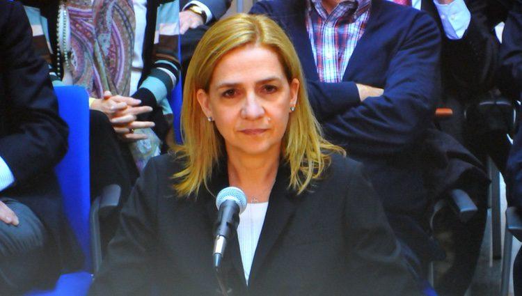 La Infanta Cristina en su declaración en el juicio por el Caso Nóos