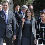 Los Reyes Felipe y Letizia en la inauguración de la exposición 'Miguel de Cervantes: de la Vida al Mito'
