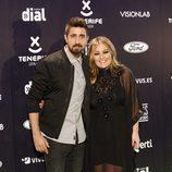 Álex Ubago y Amaia Montero en los Premios Cadena Dial 2015