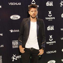 Pablo López en los Premios Cadena Dial 2015