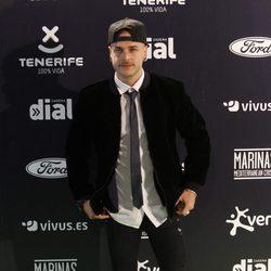 Adrián Rodríguez en los Premios Cadena Dial 2015