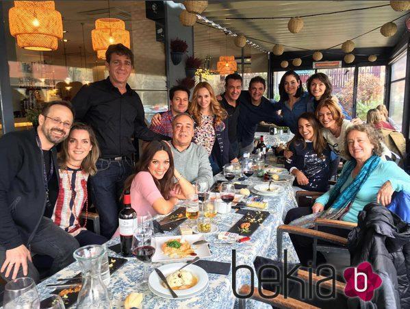 Reuni n de los actores de 39 el comisario 39 fotos de actualidad - Restaurante greener ...