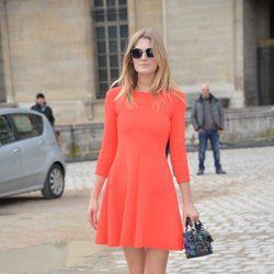 Toni Garrn en el desfile de Christian Dior en Paris Fashion Week otoño/invierno 2016/2017