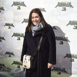 Luisa Martín en el estreno de 'Kung Fu Panda 3' en Madrid