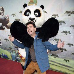 Arturo Valls en el estreno de 'Kung Fu Panda 3' en Madrid