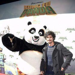 Antonio Pagudo en el estreno de 'Kung Fu Panda 3' en Madrid