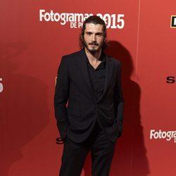Yon González en la alfombra roja de los Fotogramas de Plata 2015