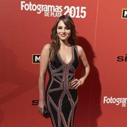 Andrea Duro en la alfombra roja de los Fotogramas de Plata 2015