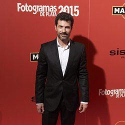 Rodolfo Sancho en la alfombra roja de los Fotogramas de Plata 2015