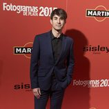 Daniel Muriel en la alfombra roja de los Fotogramas de Plata 2015