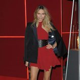 Natasha Poly en la fiesta L'Oreal Paris Red Obsession