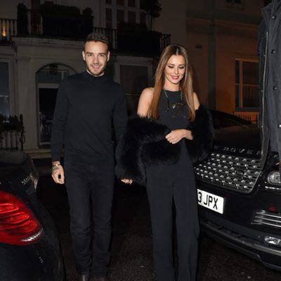 Liam Payne y Cheryl Cole cogidos de la mano en Londres