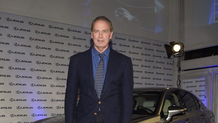 Bertín Osborne en la presentación de un nuevo coche de alta gama en Madrid
