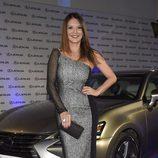 Ivonne Reyes en la presentación de un nuevo coche de alta gama en Madrid