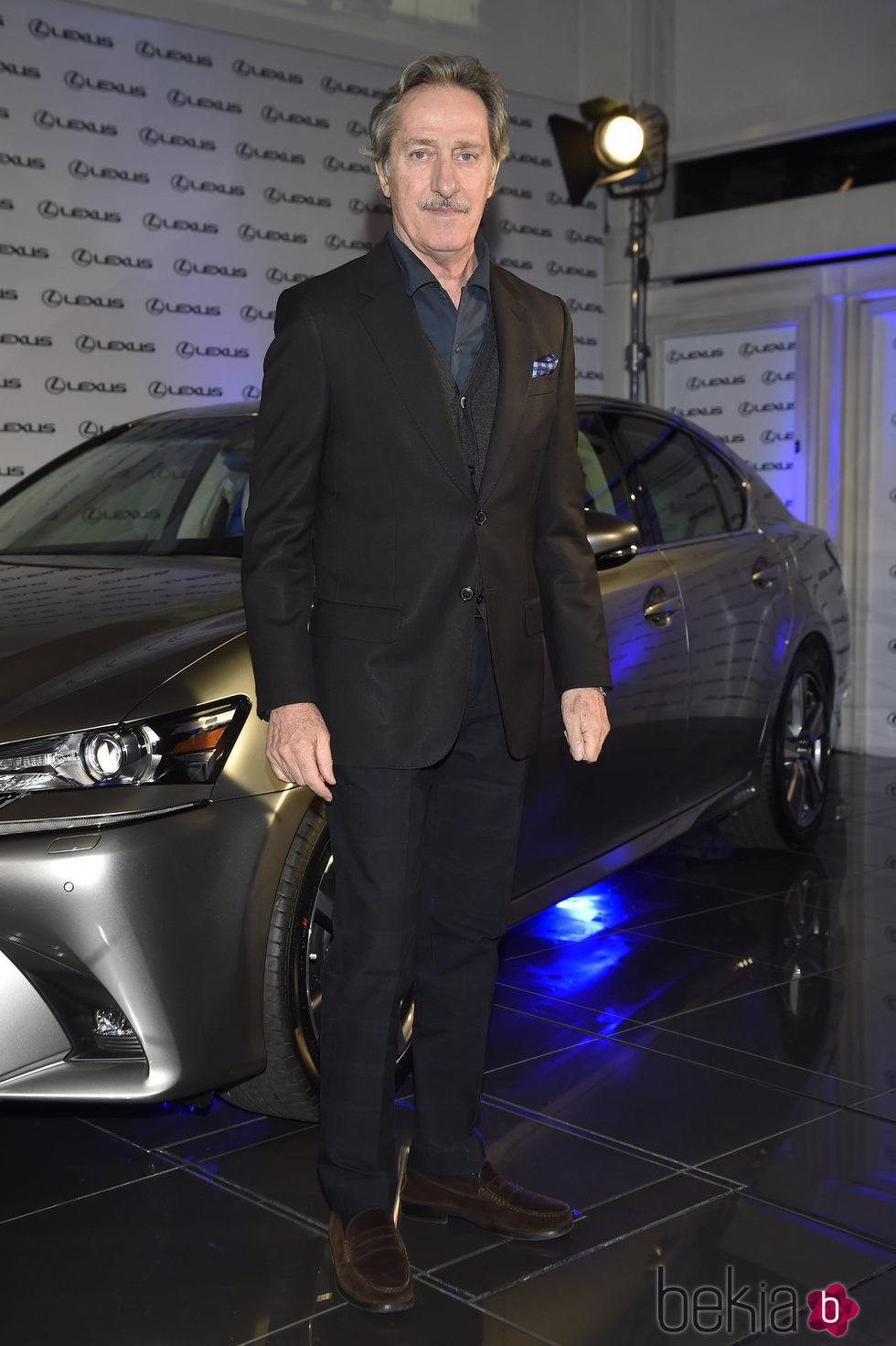 Roberto Torretta en la presentación de un nuevo coche de alta gama en Madrid