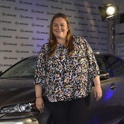 Caritina Goyanes en la presentación de un nuevo coche de alta gama en Madrid