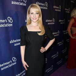 Melissa Rauch en una fiesta solidaria de 'The Big Bang Theory'
