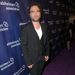 Johnny Galecki en una fiesta solidaria de 'The Big Bang Theory'