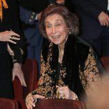 La Reina Sofía, muy feliz en el concierto que la Escuela Superior de Música ofreció a Paloma O'Shea