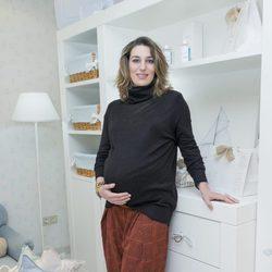 Eugenia Ortiz en la recta final de su tercer embarazo