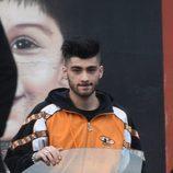 Zayn Malik durante la grabación de un videoclip para su primer disco 'Mind Of Mine'
