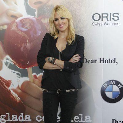 Carolina Cerezuela en la presentación de su disco 'Manzana de caramelo'