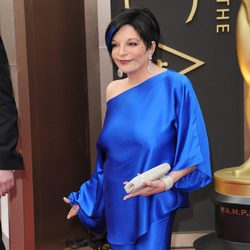 Liza Minelli en la alfombra roja de los Premios Oscar 2014