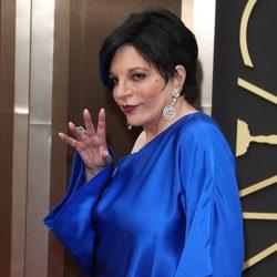 Liza Minelli en la polémica alfombra roja de los Premios Oscar 2014