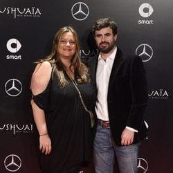 Caritina Goyanes y Antonio Matos en un acto promocional de un coche en Madrid