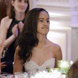 Malia Obama en la cena de gala ofrecida en la Casa Blanca al Primer Ministro de Canadá