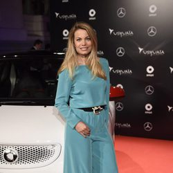 Carla Goyanes en un acto promocional de un coche en Madrid