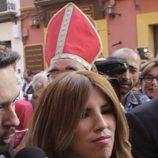 Chabelita en el bautizo de la hija de Kiko Rivera e Irene Rosales