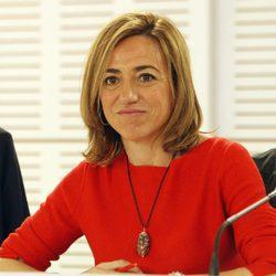 Carme Chacón la reunión ejecutiva del PSOE tras las Elecciones Generales de 2015