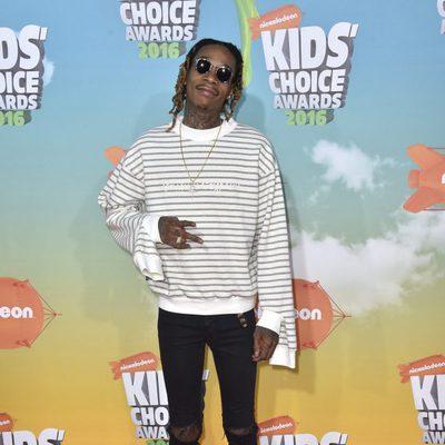 Wiz Khalifa en los Nickelodeon Kids' Choice Awards