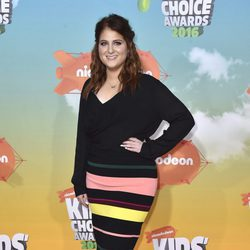 Meghan Trainor en los Nickelodeon Kids' Choice Awards