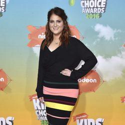 Meghan Trainor en los Nickelodeon Kids' Choice Awards