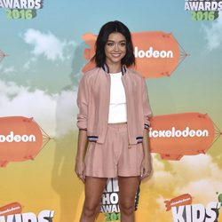 Sarah Hyland en los Nickelodeon Kids' Choice Awards