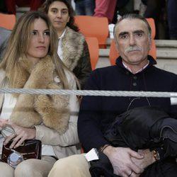 Juan y medio en el festejo taurino en Illescas en Toledo